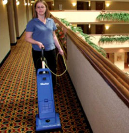 Clarke Carpetmaster Commercial Upright Vacuum Cleaner