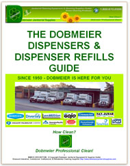 Dobmeier Dispensers & Dispenser Refills Guide - FREE e-Book