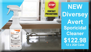 Diversey Avert Sporicidal Cleaner On Special Offer