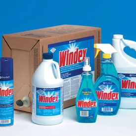 Diversey Windex Glass Cleaners