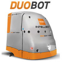 TASKI Intellibot DuoBot Robotic Sweeper/Scrubber