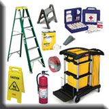 Commercial Janitorial Equipment - Facilities Maintenance & Safety Equipment