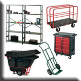 Commercial Janitorial Equipment - Heavy-Duty Materials Handling & Storage Products