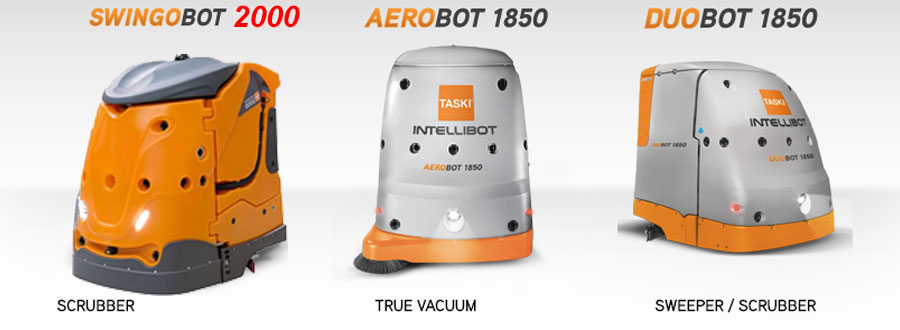 TASKI Intellibot Robotic Floor Cleaning Machines