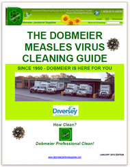 Dobmeier Professional Measles Virus Cleaning Guides - FREE e-Books