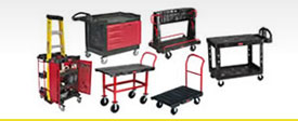 Rubbermaid Commercial Materials Handling Products