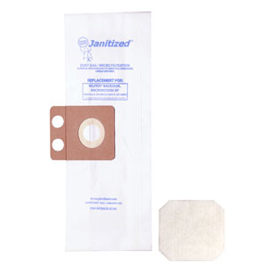 Janitized Vacuum Cleaner Filter Bag SKU#APCJAN-NFBACK-2 For Nilfisk-Advance, Janitized Vacuum Cleaner Filter Bags SKU#APCJAN-NFBACK-2 For Nilfisk-Advance