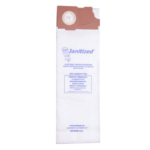 Janitized Vacuum Cleaner Filter Bag For Windsor SKU#APCJAN-WIVER-3, Janitized Vacuum Cleaner Filter Bags SKU#APCJAN-WIVER-3 For Windsor