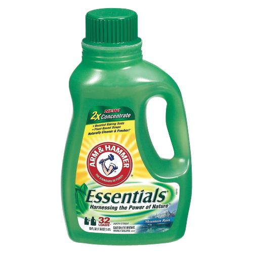 Arm & Hammer Essentials Liquid Laundry Detergent SKU#CDC09951, Arm & Hammer Essentials Liquid Laundry Detergent SKU#CDC09951
