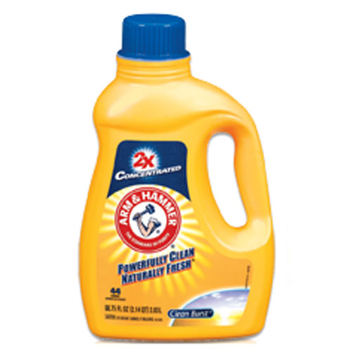 Arm & Hammer Concentrated Liquid Laundry Detergent - 62.5 oz SKU#CDC8495600, Arm & Hammer Concentrated Liquid Laundry Detergent - 62.5 oz SKU#CDC8495600