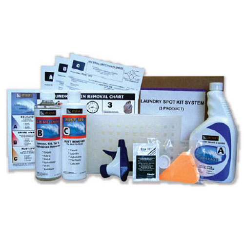 Professional Laundry Stain Removal Spotter Kit SKU#PYL7005 Safely Removes Stains From Fabrics, Upholstery, Drapes, Carpets, Rugs, Hard Floors, Countertops...