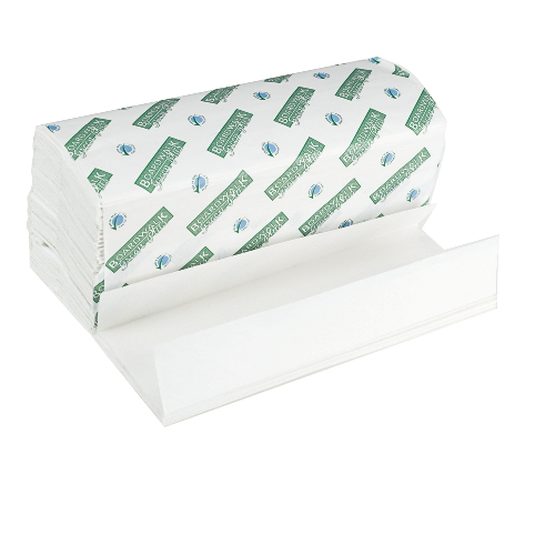 Boardwalk & Boardwalk Green Folded Paper Towels