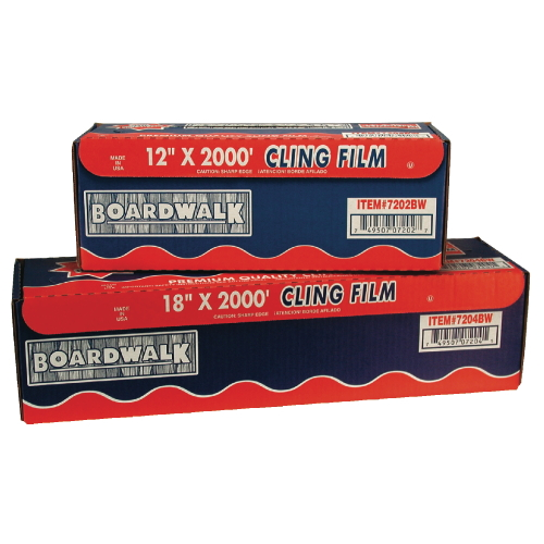 Boardwalk PVC Food Wrap Film SKU#BWK7204, Boardwalk PVC Food Wrap Film SKU#BWK7204