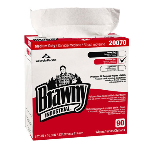 Brawny Industrial Premium All Purpose DRC Wipers SKU#GPC20070-03, Georgia Pacific Brawny Industrial Premium All Purpose DRC Wipers SKU#GPC20070-03