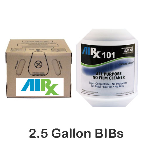 AIRX RX101 All Purpose Odor Counteractant Cleaner BIBs SKU#RX101-BIB, Bullen AIRX RX 101 All Purpose Odor Counteractant Cleaner BIBs SKU#RX101-BIB