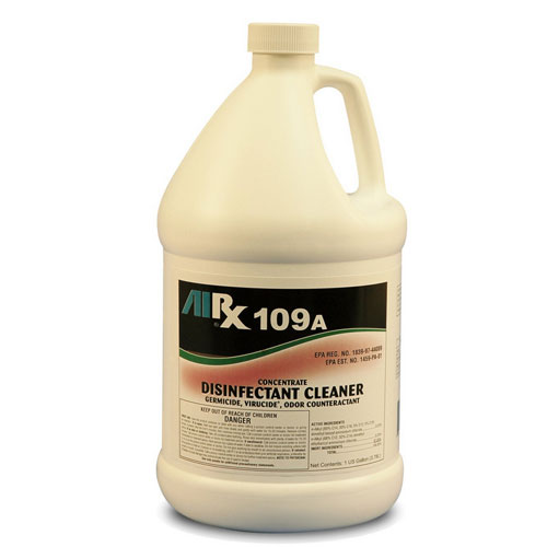 AIRX RX109A Hospital Disinfectant Virucidal Cleaner Gallons SKU#RX109A-4G, Bullen AIRX RX 109A Hospital Disinfectant Virucidal Cleaner Gallons SKU#RX109A-4G