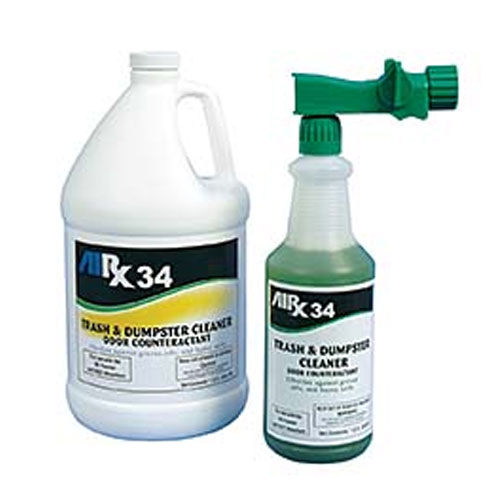 AIRX RX34 Trash & Dumpster Cleaner Odor Counteractant Gallons SKU#RX34-4G, Bullen AIRX RX 34 Trash & Dumpster Cleaner Odor Counteractant Gallons SKU#RX34-4G
