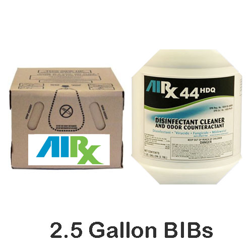 AIRX RX44 HDQ Hospital Disinfectant Cleaner Odor Counteractant BIBs SKU#RX44HDQ-BIB, Bullen AIRX RX 44 HDQ Hospital Disinfectant Cleaner Odor Counteractant BIBs SKU#RX44HDQ-BIB