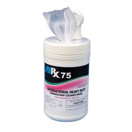 AIRX RX75 Antibacterial Disinfectant Cleaner Wipes SKU#RX75WIPES-6C, Bullen AIRX RX 75 Antibacterial Disinfectant Cleaner Wipes SKU#RX75WIPES-6C