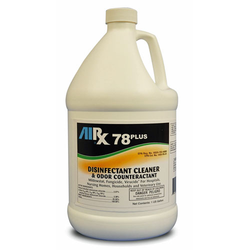 AIRX RX78PLUS Neutral Disinfectant Cleaner Gallons SKU#RX78PLUS-4G, Bullen AIRX RX 78PLUS Neutral Disinfectant Cleaner Gallons SKU#RX78PLUS-4G