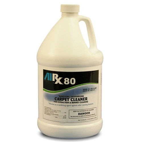 AIRX RX80 Sanitizing Carpet Cleaner Gallons SKU#RX80-4G, Bullen AIRX RX 80 Sanitizing Carpet Cleaner Gallons SKU#RX80-4G