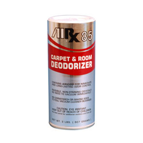 AIRX RX85 Shake-On Carpet & Space Deodorizer SKU#RX85-12C, Bullen AIRX RX 85 Shake-On Carpet & Space Deodorizer SKU#RX85-12C