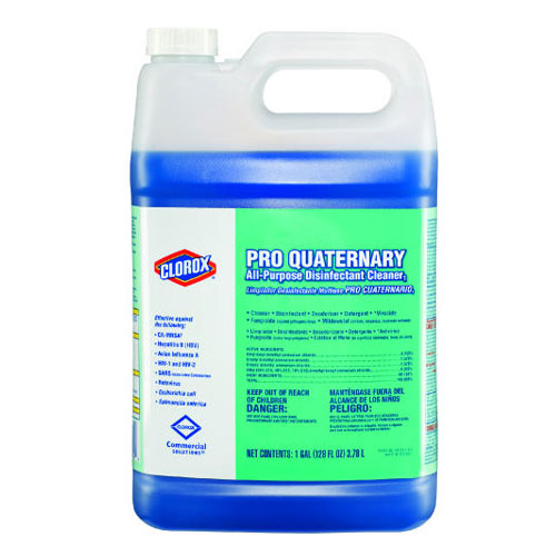 Pro Quaternary Concentrated All Purpose Disinfectant Cleaner 128 Oz SKU#CLO30423, Clorox Pro Quaternary Concentrated All Purpose Disinfectant Cleaner 128 Oz SKU#CLO30423
