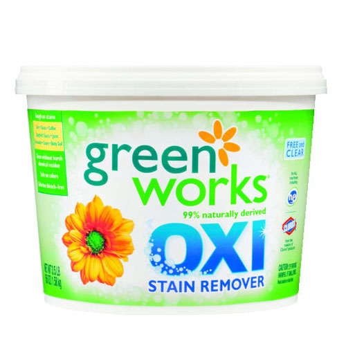 Green Works Oxi Stain Remover Tub 56 Oz SKU#CLO30669, Clorox Green Works Oxi Stain Remover Tub 56 Oz SKU#CLO30669