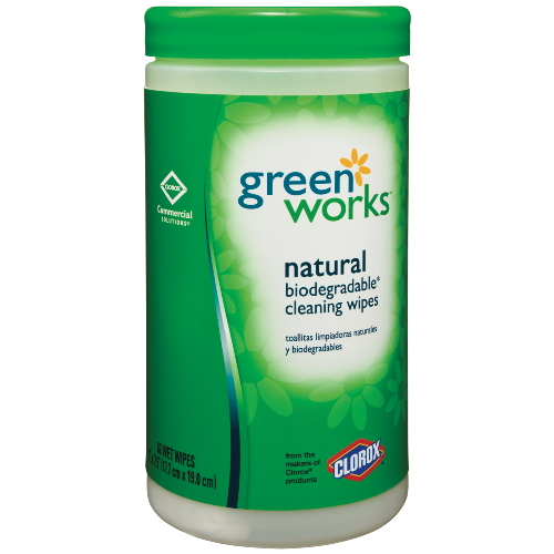 Clorox Green Works Wipes SKU#CLO30380, Clorox Green Works Wipes SKU#CLO30380