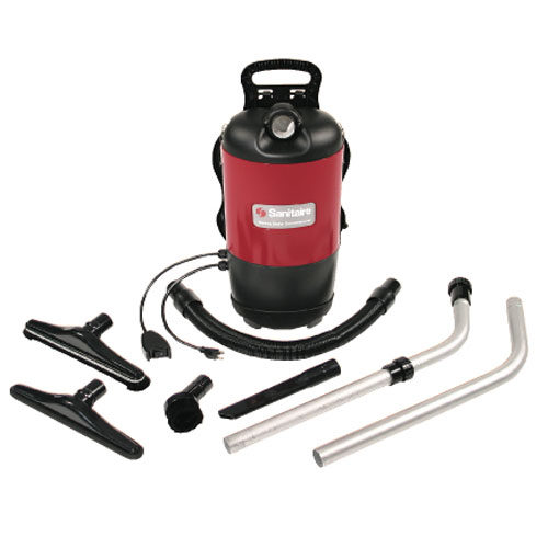Sanitaire Quiet Clean Commercial BackPack HEPA Vacuum Cleaners