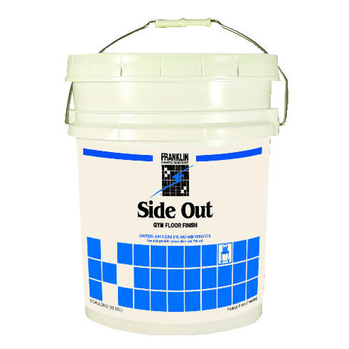 Side Out Gym Floor Finish 5 Gallon Pail SKU#FRKF193026, Franklin Cleaning Technology Side Out Gym Floor Finish 5 Gallon Pail SKU#FRKF193026