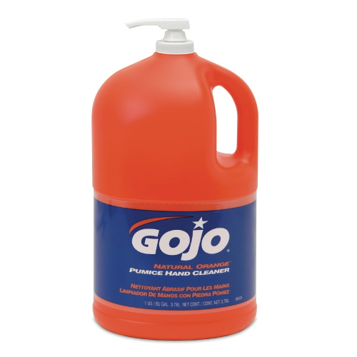 GoJo Natural Orange Hand Cleaners - Soap Dispenser Refills & Pump Bottles