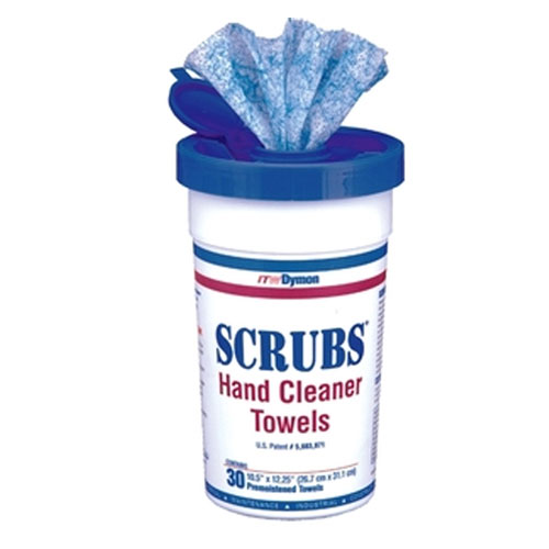 SCRUBS Hand Cleaner Towel SKU#DYM42230, ITW SCRUBS Hand Cleaner Towels SKU#DYM42230