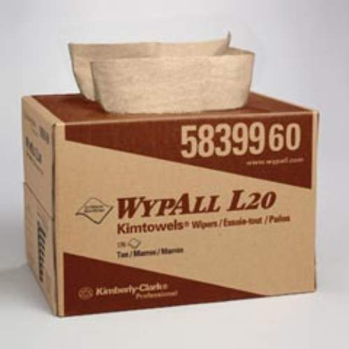 WYPALL L20 Wipers in BRAG Box SKU#KCC58399, Kimberly Clark WYPALL L20 Wipers in BRAGBox SKU#KCC58399