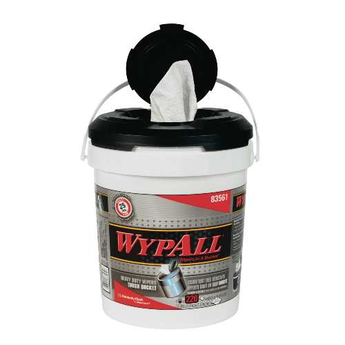 WYPALL Wipers in a Bucket SKU#KCC83561, Kimberly Clark WYPALLWipers in a Bucket SKU#KCC83561
