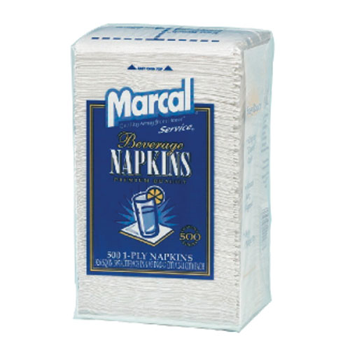Marcal Beverage Napkin SKU#MAC0028, Marcal Beverage Napkins SKU#MAC0028
