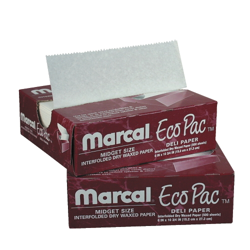 Marcal Eco-Pac Natural Interfolded Dry Wax Paper SKU#MCD5293, Marcal Eco-Pac Natural Interfolded Dry Wax Paper SKU#MCD5293