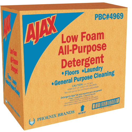Ajax Low Foam All-Purpose Detergent SKU#PBC04969, Phoenix Ajax Low Foam All-Purpose Detergent SKU#PBC04969