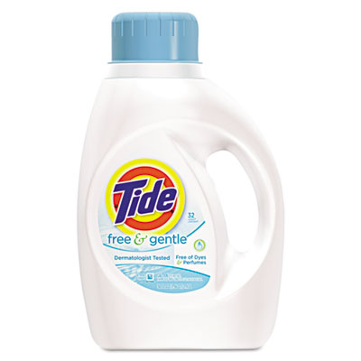 Tide Free & Gentle Laundry Detergent SKU#PGC13885, Procter Gamble Tide Free & Gentle Laundry Detergent SKU#PGC13885