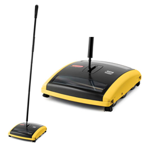Rubbermaid Brushless Mechanical Sweepers SKU#RCP4215-88BLA, Rubbermaid Brushless Mechanical Sweeper SKU#RCP4215-88BLA