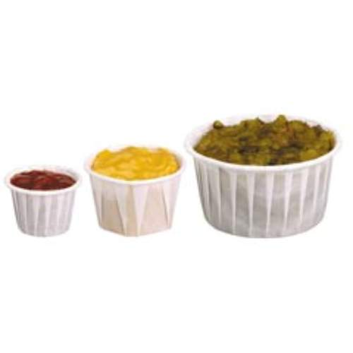 Solo Paper Pleated Souffle Cups SKU#SCC125U, Solo Paper Pleated Souffle Cups SKU#SCC125U