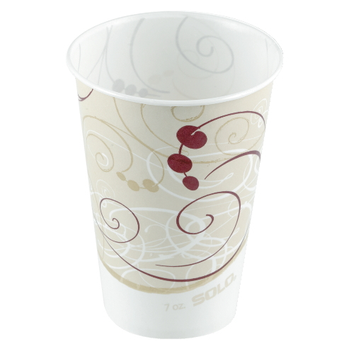 Solo Wax-Coated Paper Cold Cup SKU#SCCR53SYM, Solo Wax-Coated Paper Cold Cup SKU#SCCR53SYM
