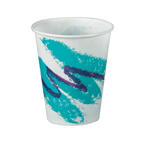 Solo Wax-Coated Paper Cold Cup SKU#SCCR8NJ, Solo Wax-Coated Paper Cold Cup SKU#SCCR8NJ
