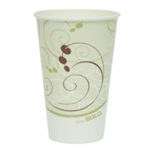 Solo Double-Polycoated Paper Cold Cup SKU#SCCRP12NSYM, Solo Double-Polycoated Paper Cold Cup SKU#SCCRP12NSYM